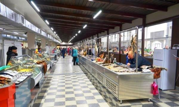 Рыбный павильон открылся на Центральном рынке Ростова