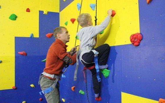 Центр скалолазания для детей с особенностями развития открылся в Краснодаре