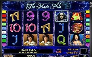 Прекрасная Флейта в казино Вулкан