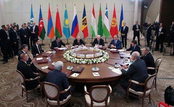 Заседание Совета глав государств СНГ прошло в Сочи
