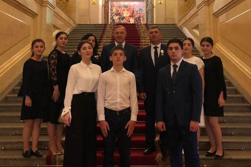 Награждение многодетной семьи из Адыгеи в Кремле