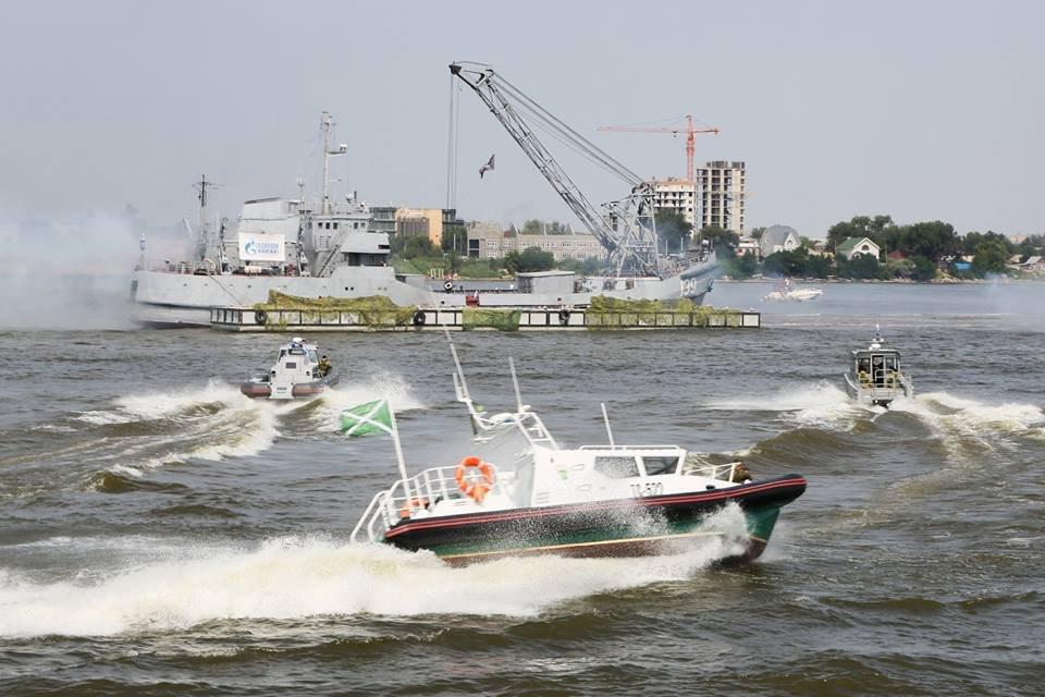 Подразделения охраны  Каспийской военной флотилии  останутся в Астрахани