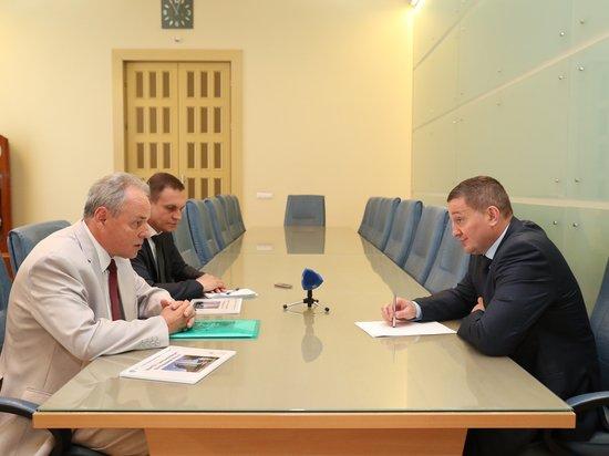 Бочаров и Лысак обсудили создание в Волгограде двух
