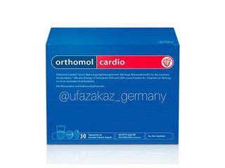 Особенности витаминного комплекса Orthomol Cardio