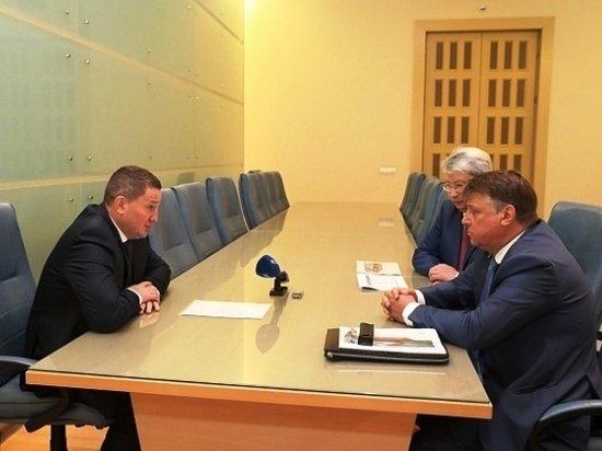 А. Бочаров обсудил с руководством железных дорог совместные проекты
