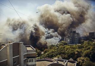 Причина пожара в Ростове - замыкание ЛЭП