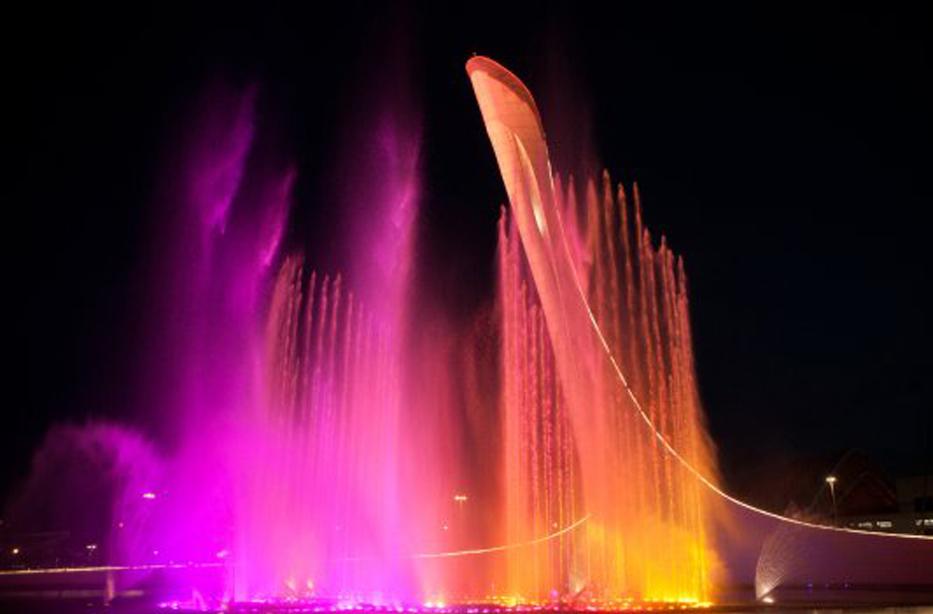Светомузыкальный фонтанный комплекс откроется завтра в Сочи