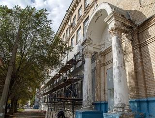 В Волгограде идет ремонт здания училища олимпийского резерва