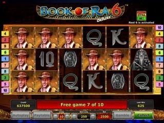 Преимущества и особенности игрового автомата Book of Ra