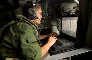 В радиотренировке приняли участие 1500 специалистов войск связи