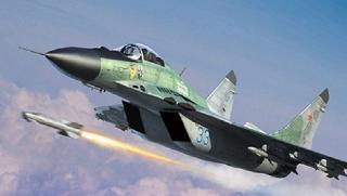 Запасные топливные баки МиГ - 29 упали в Ейске