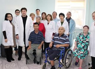 Для Элистинского дома-интерната для престарелых и инвалидов провели профосмотр