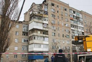 Открытый газовый кран привел ко взрыву в Шахтах