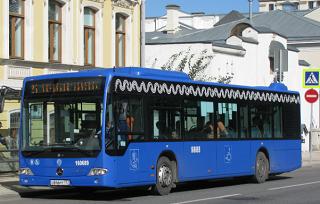 Из Москвы в Астрахань прибудут новые автобусы
