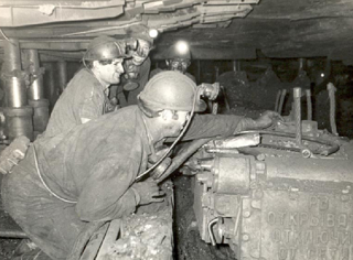 Подземные разработки шахты