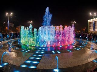 Открытие сезона фонтанов состоялось в Краснодаре