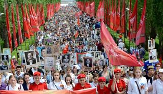 Акция «Бессмертный полк» в Волгограде проходила в условиях антитеррористического режима