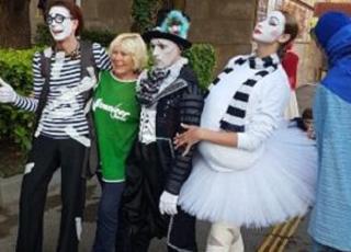 Карнавальное шествие в Сочи ознаменовало начало курортного сезона