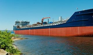 Волжский судостроительный выпустил свой самый масштабный корабль