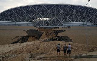 Огромную ливневку построили в Волгоградской области