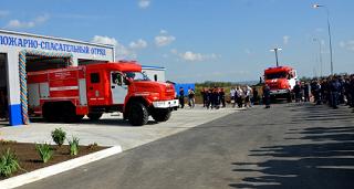 Спасательный отряд появился в Октябрьском районе Ростовской области