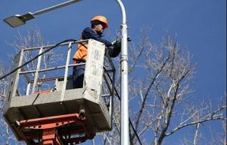 В Волгограде модернизируют систему освещения