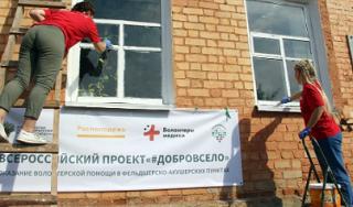 Волонтеры и медики Адыгеи сеяли «Добром в село»