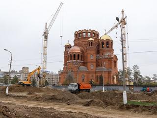 За Александро-Невским собором в Волгограде появится пешеходный фонтан