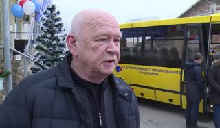 Социально-реабилитационному центру «Русь» подарили автобус