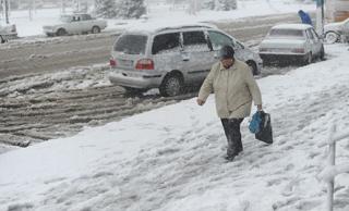19 снегоуборочных машин соскучились за работой в Майкопе