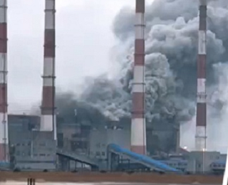 Выброс пара на Новочеркасской ГРЭС спровоцировал разговоры о пожаре