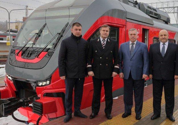 На маршрут Ростов – Волгодонск вышел рельсовый автобус нового поколения