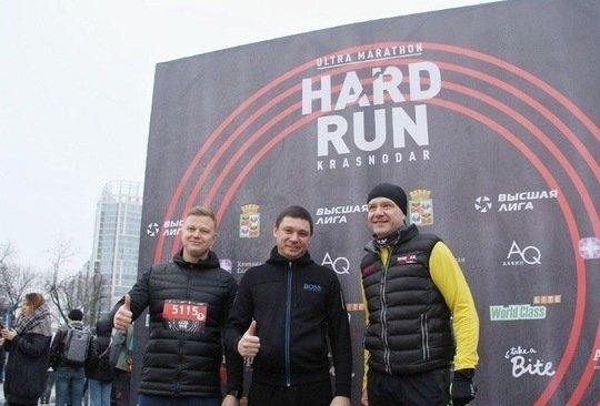 Мэр Краснодара принял участие в марафоне в День защитника Отечества