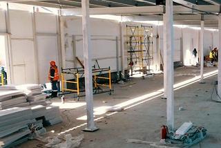 В Волгограде ускоренными темпами строят госпиталь