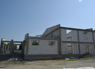 Строительство двух сельских домов культуры в Адыгее продолжили