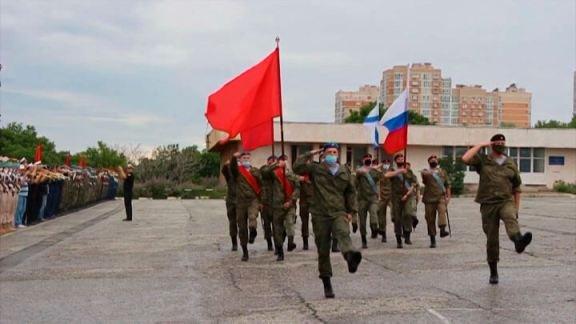 В Новороссийске прошла репетиция парада Победы