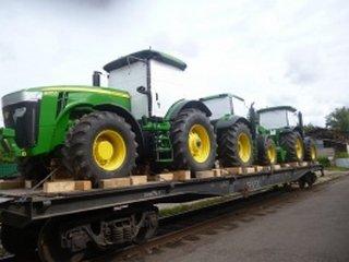 Как успешно транспортировать трактор?