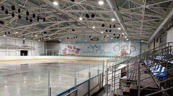 В Адыгее завершили подготовку к открытию новой ледовой арены