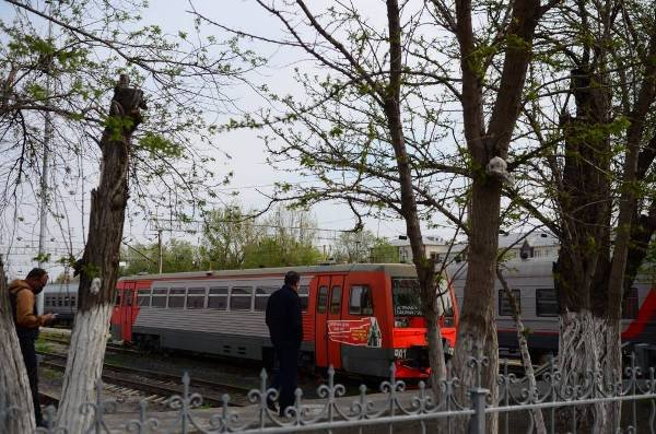Астраханцы смогут добраться от центра до ст. «Трусово» на электричке
