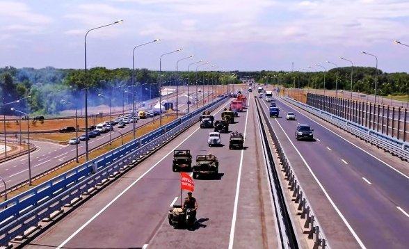 В Волгоградской области открыли моста через Ахтубу