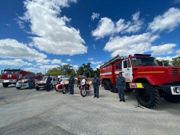 В Анапе открыли новую пожарно-спасательную часть