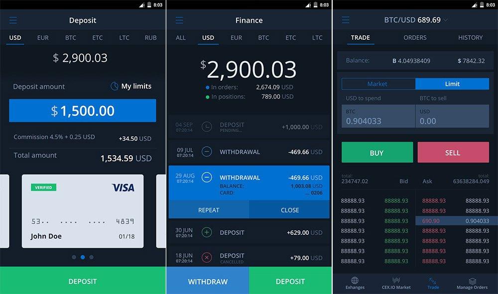 Cex.io – авторитетный обменный сайт