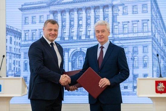 Москва и Астрахань подписали соглашение о сотрудничестве