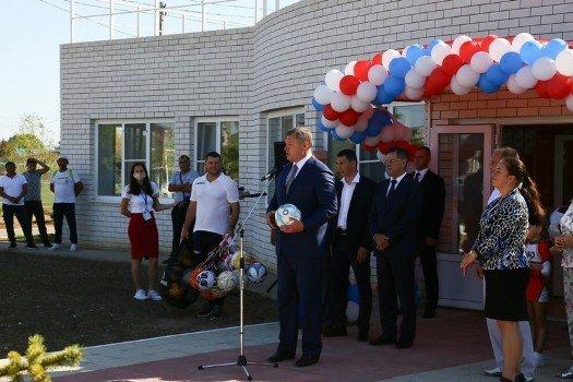 В Астраханской области открылся  физкультурно-оздоровительный комплекс