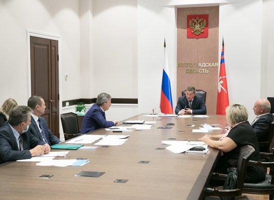 Губернатор А. Бочаров принял участие в заседании Правительственной комиссии по региональному развитию