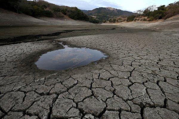 Уровень воды в Краснодарском водохранилище приближается к минимуму