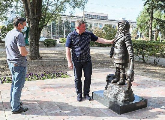 На пл. Ленина в Волгограде открыли новый памятник