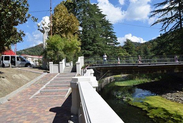 Набережную р. Мацеста восстановят в 2021 г.