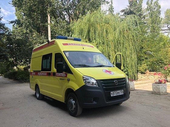 В Волгоградской области обновляют автопарк скорой помощи