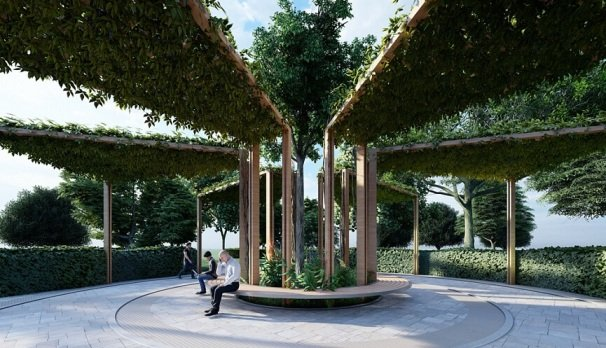 В Новороссийске представили концепцию реконструкции парка им. Фрунзе